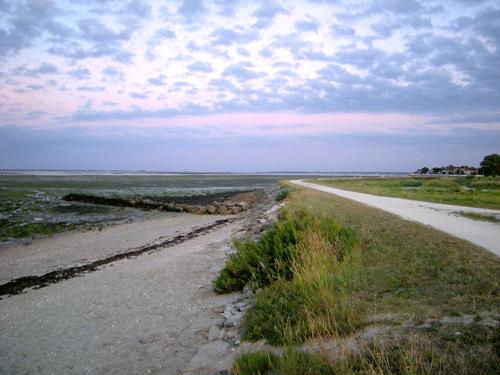 Zicht vanaf Isle d'Oléron - 2008