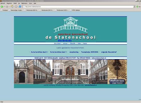 Site Statenschool - statenschool.nl - bestaat niet meer