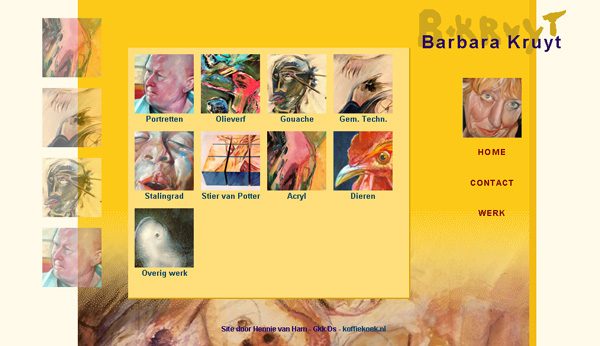 website Barbara Kruyt - barbarakruyt.nl