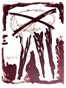 (hou niet van} kwallen - lithografie 2009