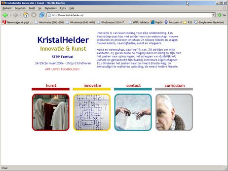 Site KristalHelder - kristal-helder.nl