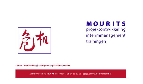 Website Els Mourits - mouritswerkt.nl