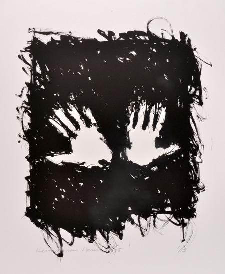 Handen 1995 - Lithografie - oplage: 2 stuks