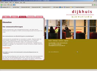 Site Dijkhuiscommunicatie - dijkhuiscommunicatie.nl