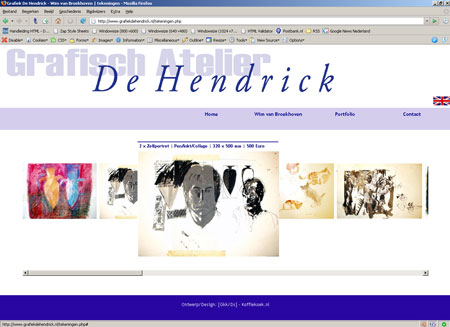 Site Wim van Broekhoven - grafiekdehendrick.nl