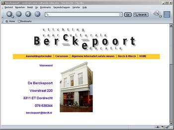 Site Berckepoort - niet actueel