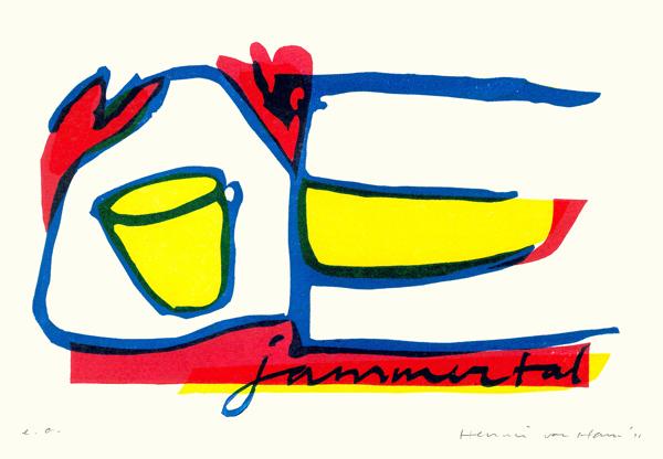 Jammertal - 2011 - linosnede (A5)