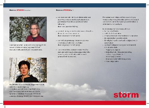 brochure Bureau Storm [binnenzijde]