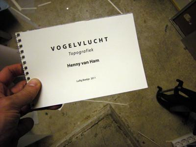 boekje 'Vogelvlucht - Topografiek' dec 2011