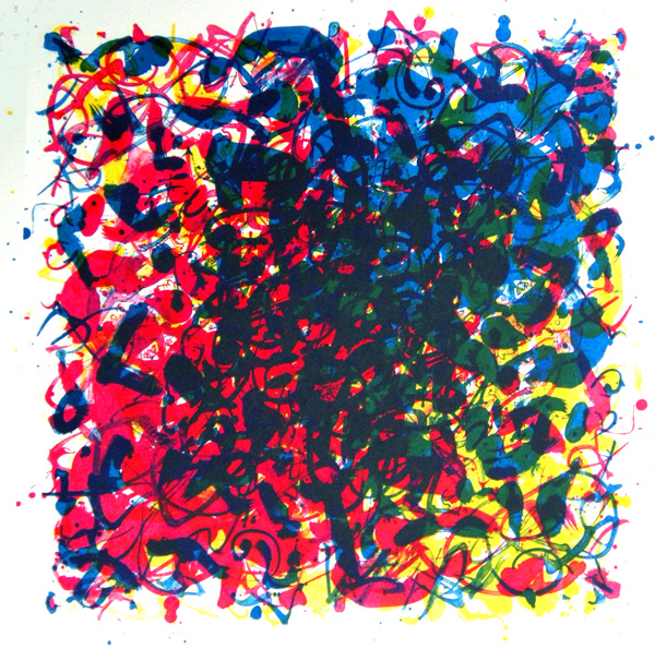 Transitions CMY - Litho 50 x 50 cm - 2011 - Henny van Ham
