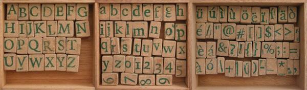 letterstempels%2C zelf gegoten