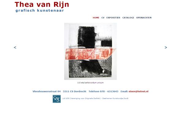 website Thea van Rijn