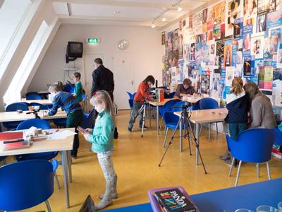 animatieworkshop museum van Lien Fijnaart