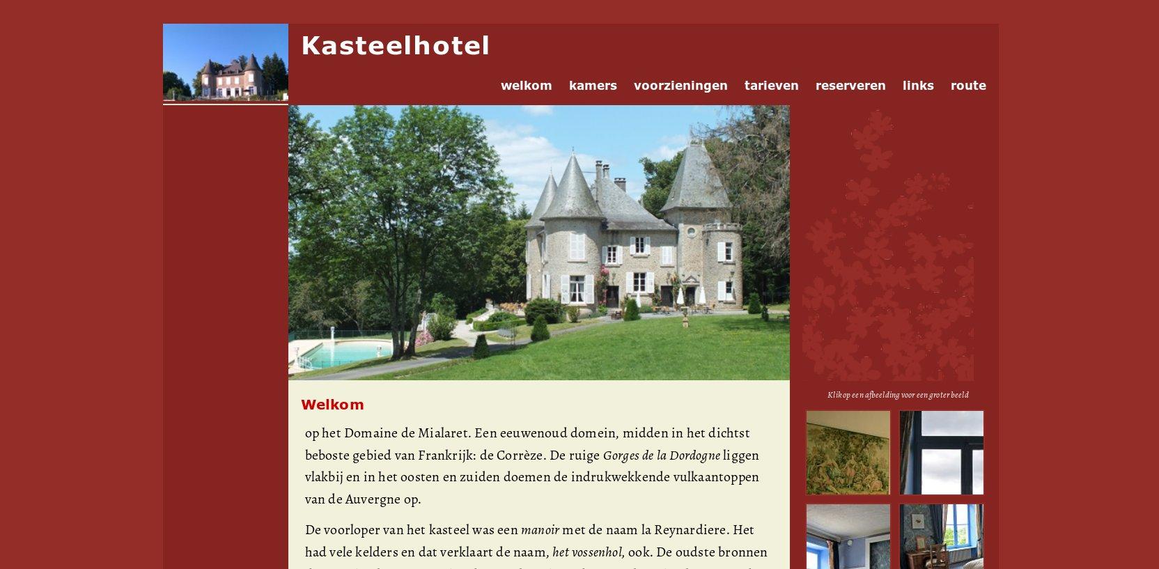 Website: ontwerp en uitvoering  Henny van Ham