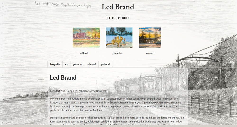 website Led Brand 2017 door Henny van Ham