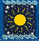 Zon, zee en sterren - hoogdruk