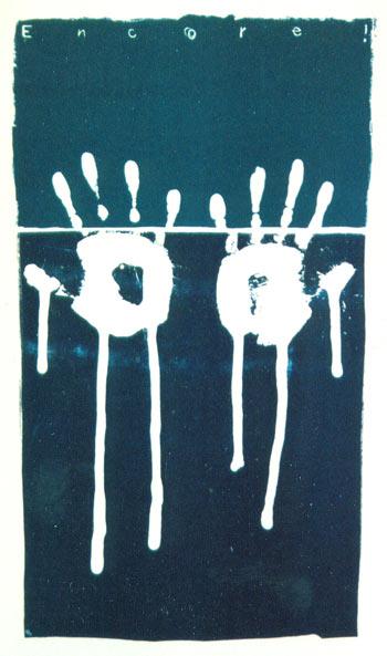 Encore - lithografie - 96 x 64 cm