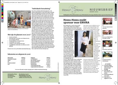 Howu Howu - Nieuwsbrief