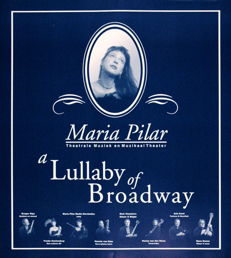 Affiche Maria Pilar (band)