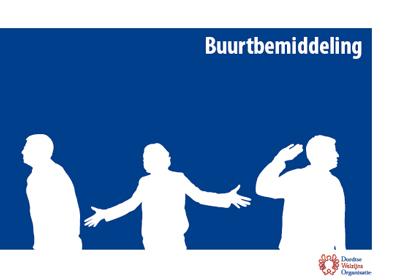 Buurtbemiddeling - brochure PAD Dordrecht